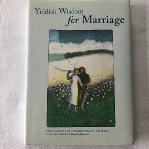 Yiddish Wisdom for Marriage - hard cover